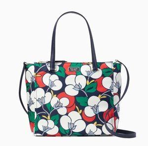 ♠️ Dawn breezy floral medium satchel